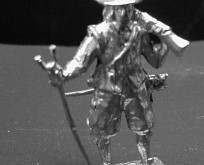 1601 E1 Musketeer with musket shoulder