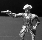 1701  A5  Officer attacking, with pistol