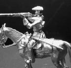1702 E2 Trooper firing from horseback