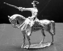 1756 A1 Officer, standing horse