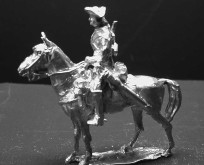 1756 E1 Trooper, standing horse