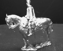 Hussars 1758 to circa 1820.  Horses standing or walking
