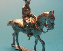 2127 A Britain Officer Cavalry 1914, field equipment, walking