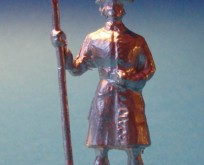 2179 E6 Artilleryman with powder ladle Carolean artillery