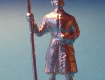 2179 E6 Artilleryman with powder ladle Carolean artillery