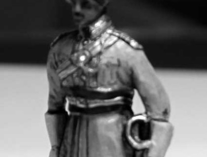 199 9A Lancer officer attention,circa1910
