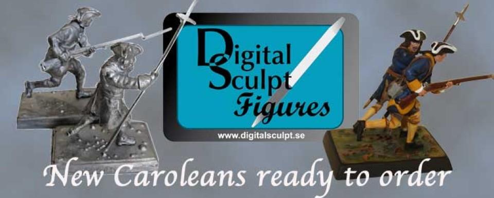 Digital sculpt figures